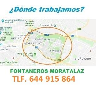 Fontaneros Moratalaz Calle Valdebernardo